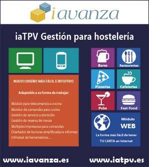 TPV Hosteleria para restaurantes, cafeterias, bares, etc. Haga clic para descarga gratis