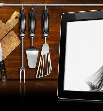 monitor trabajo cocina