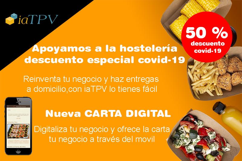 Promoción iaTPV Software para Hostelería COVID-19